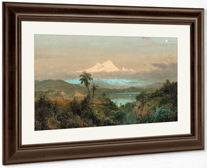 Cayambe By Fredric Edwin Church By 01