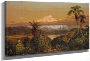Cayambe By Fredric Edwin Church