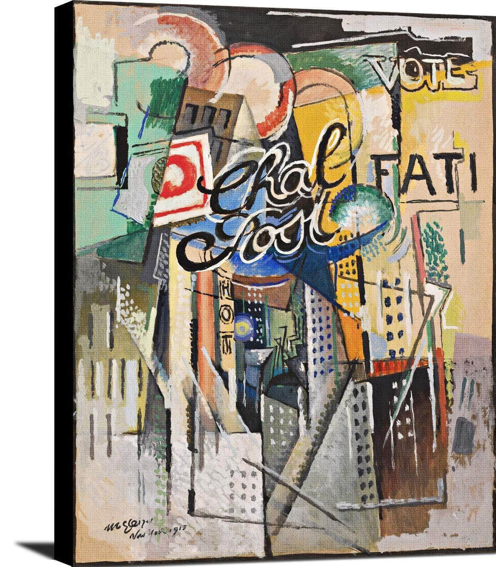 Chal Post Painting Albert Gleizes Canvas Art