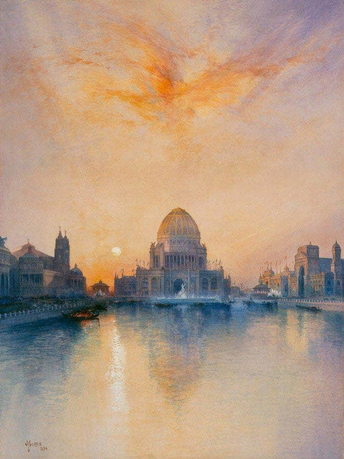 Chicago World's Fair By Thomas Moran