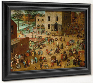 Childrens Games 1560  By The Elder