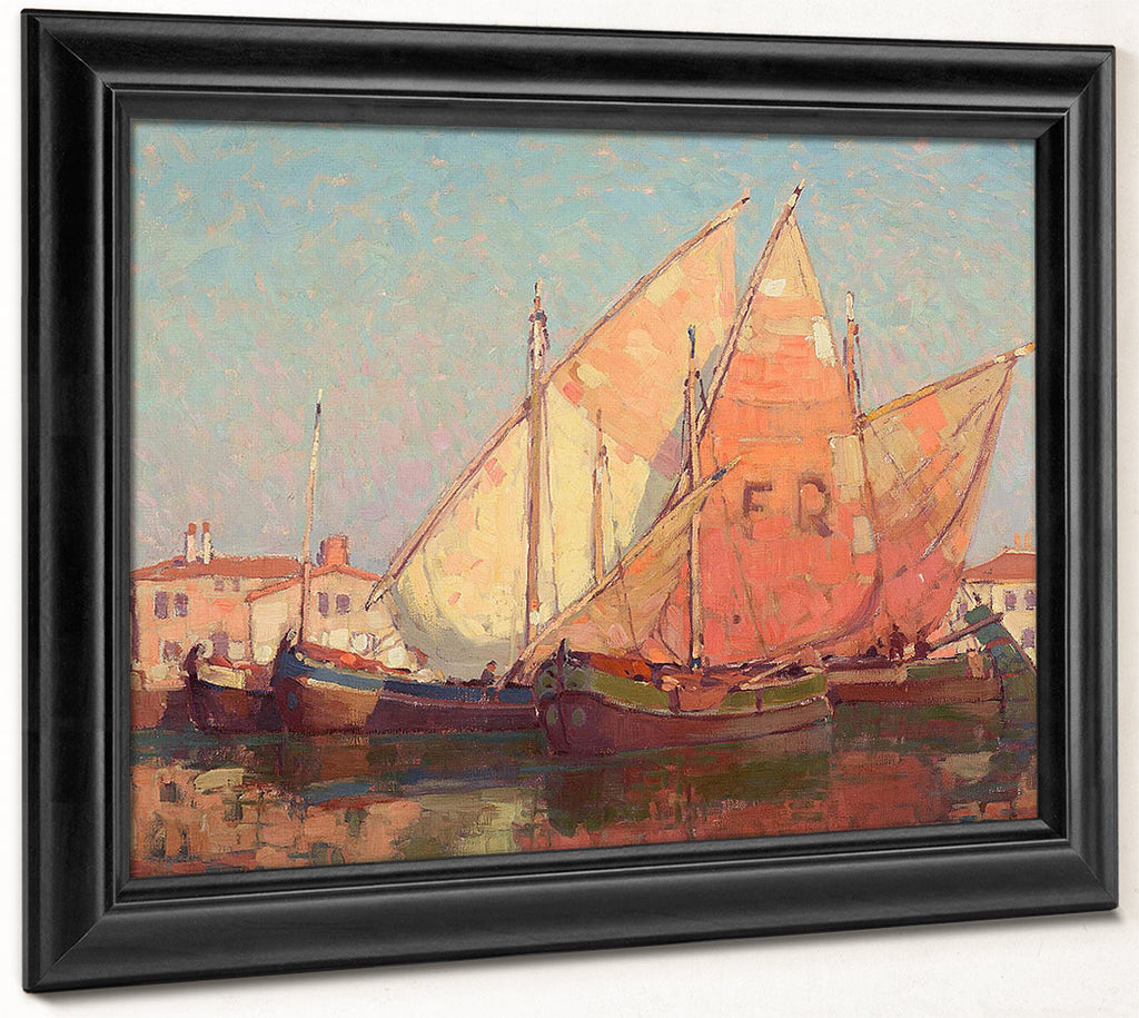 Chioggia Boats By Edgar Payne
