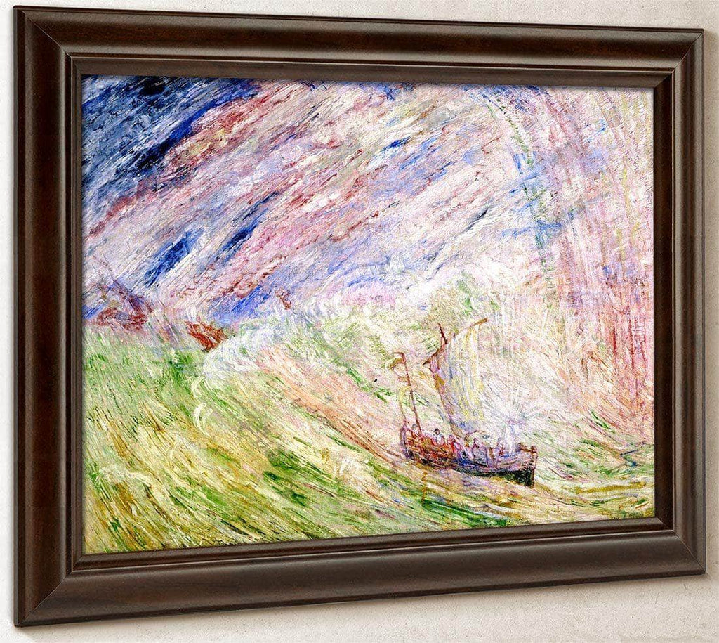 Christ Calming The Storm By James Ensor