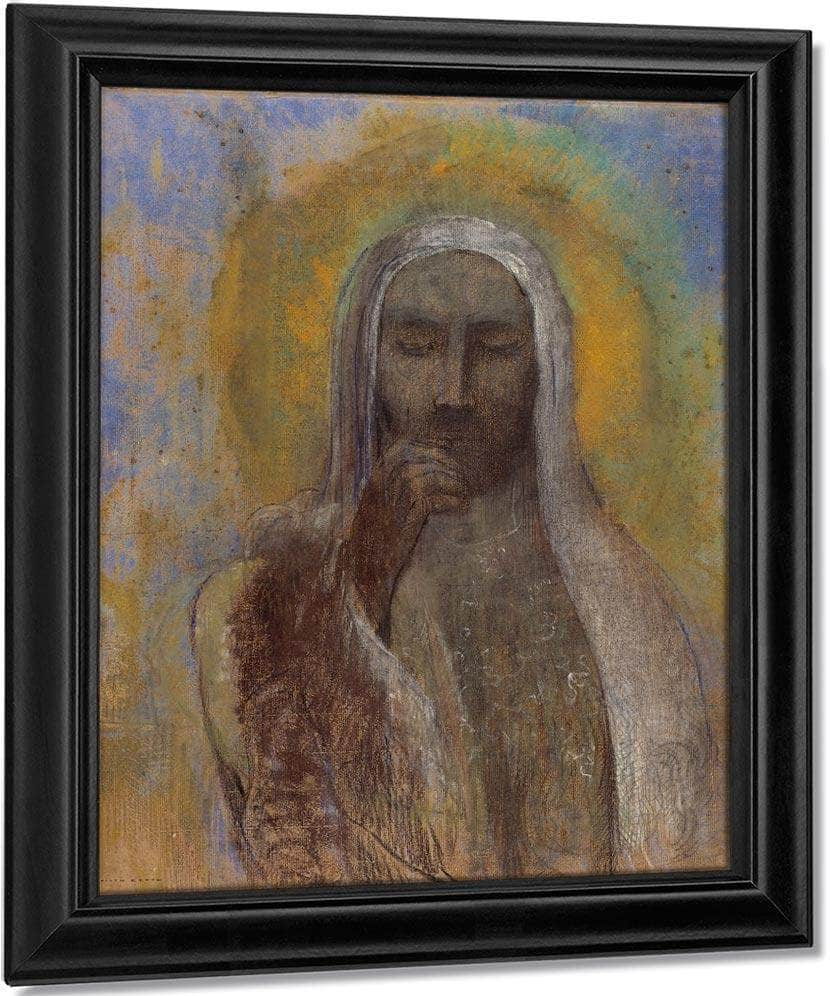 Christ In Silence 1897 By Odilon Redon
