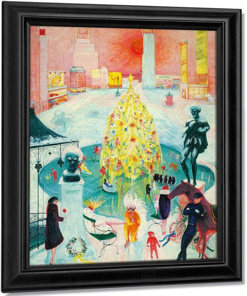 Christmas By Florine Stettheimer