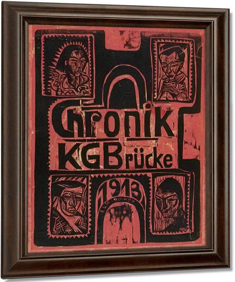 Chronicle Of The Brucke Artists Group By Ernst Ludwig Kirchner