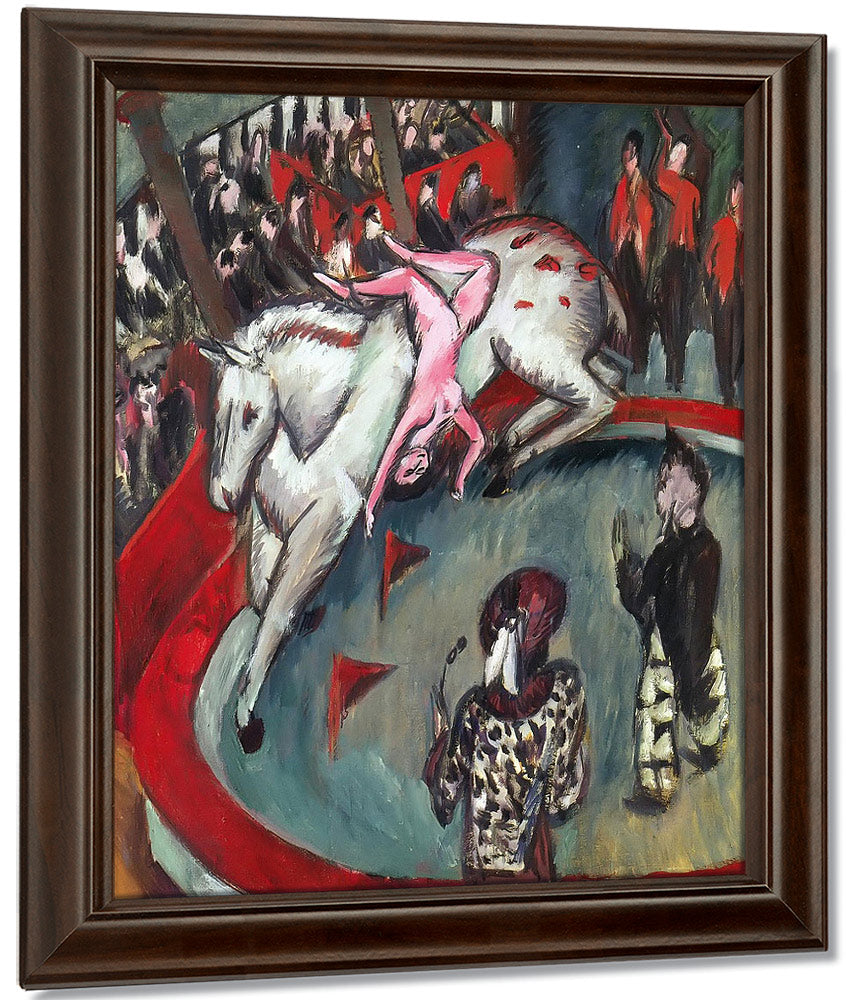 Circus (Circus Horsewoman) By Ernst Ludwig Kirchner