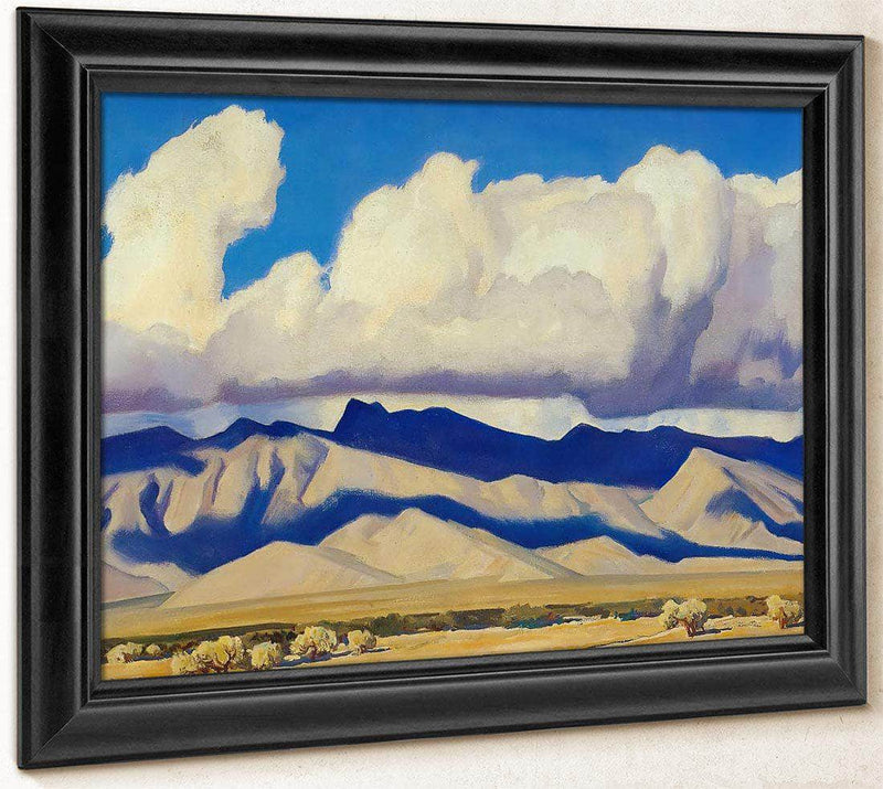 Cloud Banks And Shadows By Maynard Dixon