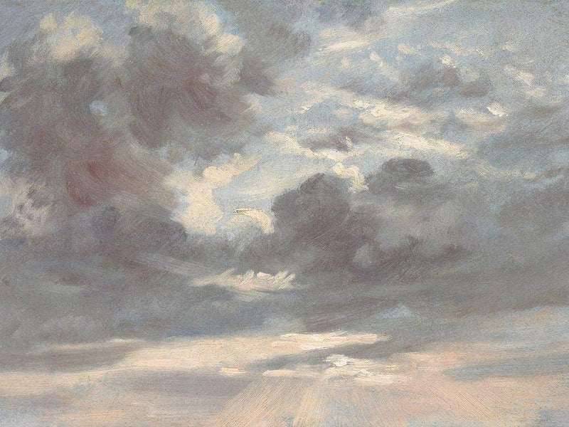 Cloud Study  Stormy Sunset By John Constable