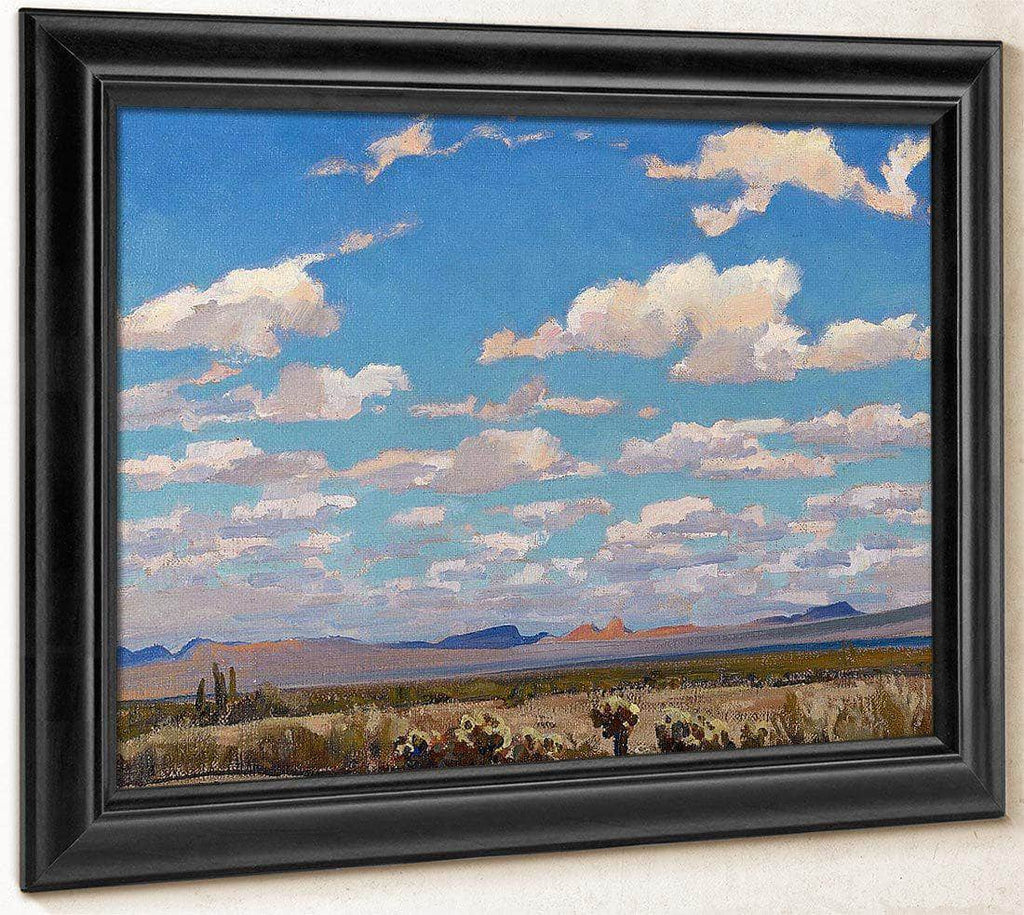 Clouds Of A Summer Afternoon By Maynard Dixon