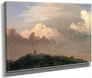 Clouds Over Olana By Frederic Edwin Church