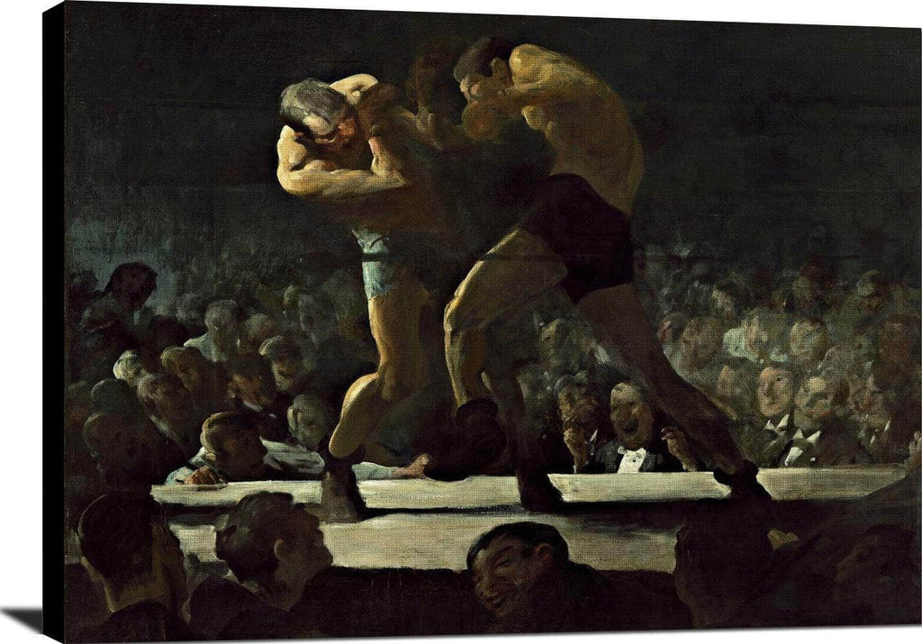 Club Night Painting George Wesley Bellows Canvas Art