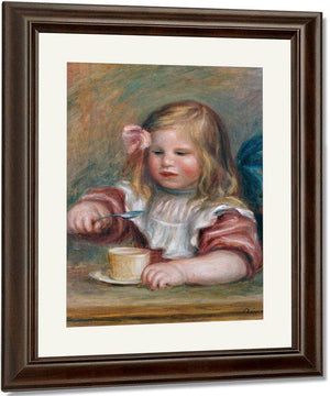 Coco Eating His Soup By Pierre August Renoir
