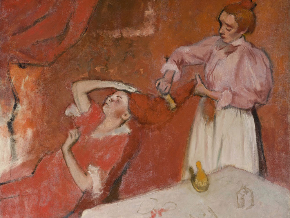 Combing The Hair ('La Coiffure') By Edgar Degas