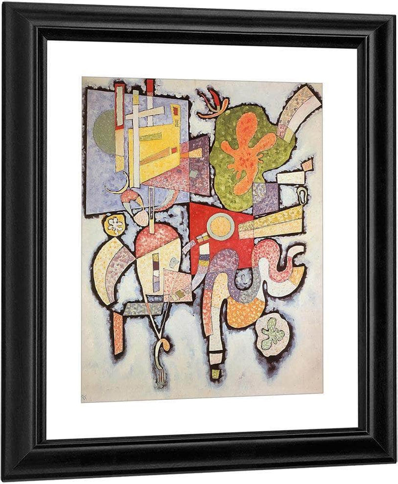 Complex Simple By Wassily Kandinsky