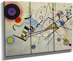 Composition 8 1923 By Wassily Kandinsky