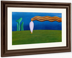 Composition (Lonely Figure) By Tarsila Do Amaral