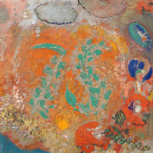 Composition Flowers Without A Vase By Odilon Redon