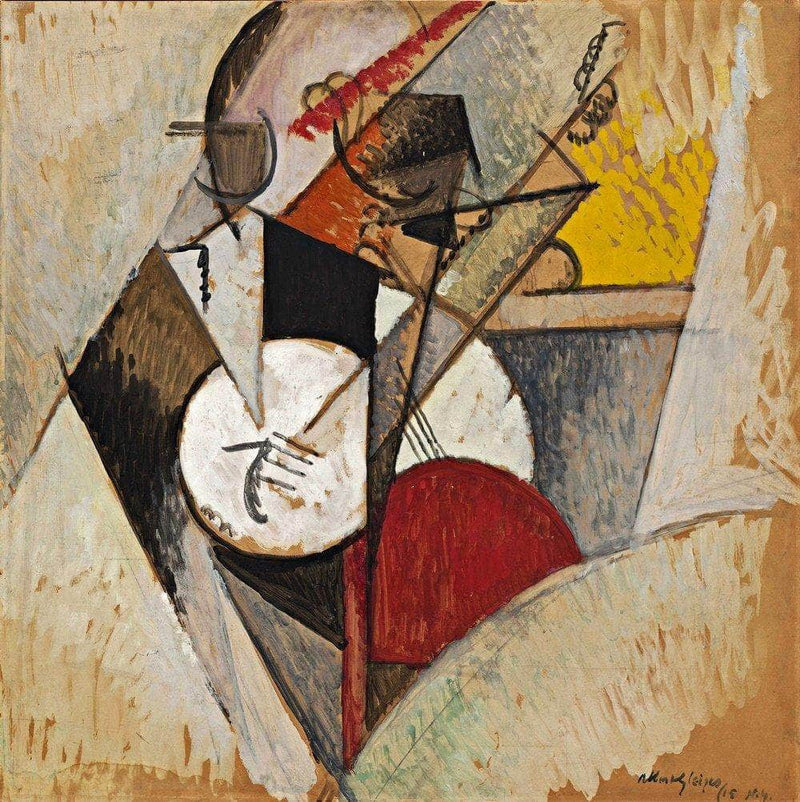 Composition For Jazz Painting Albert Gleizes Canvas Art
