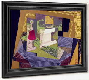 Composition On A Table By Juan Gris