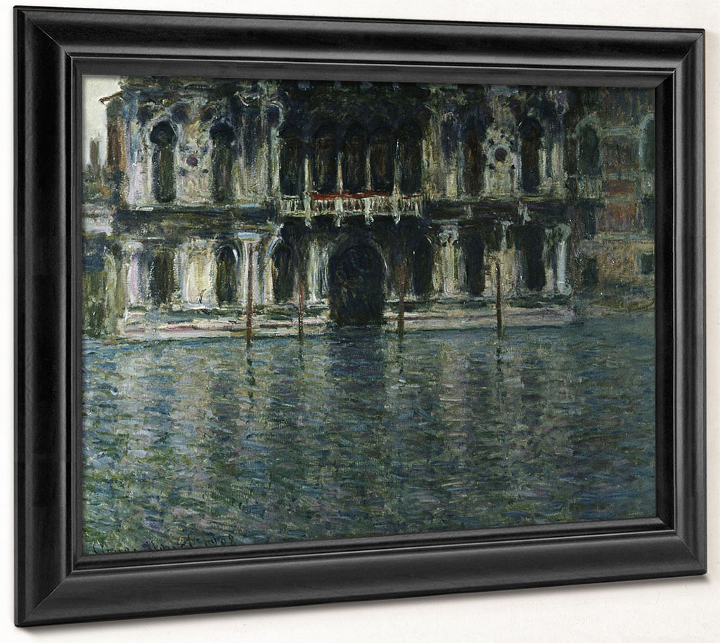Contarini Palace, Venice By Claude Monet
