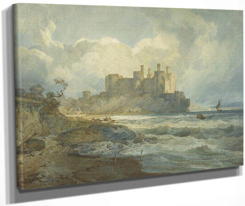 Conway Castle North Wales By Joseph Mallord William Turner