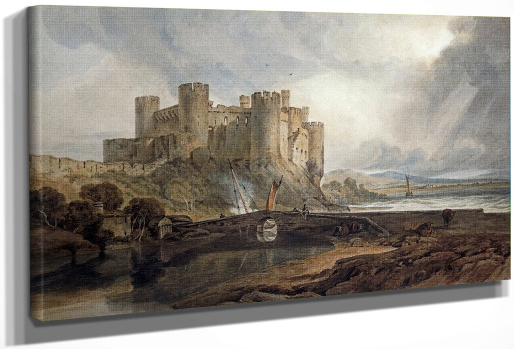 Conway Castle By Joseph Mallord William Turner