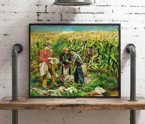 Cornfield Painting Joe Jones Canvas Art