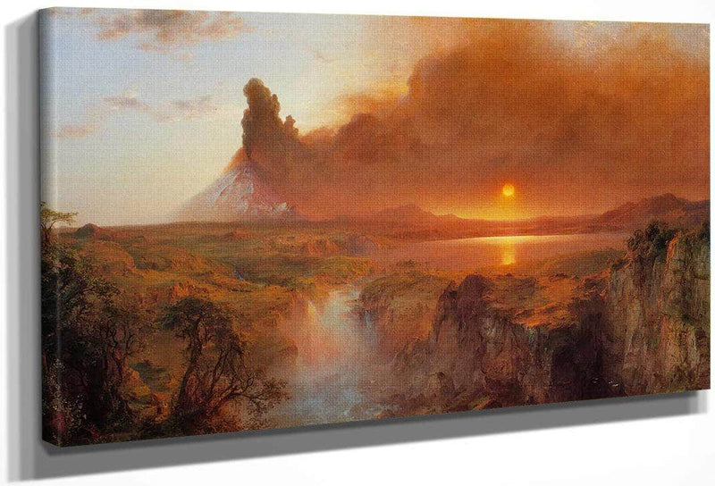 Cotopaxi 1862 By Fredric Edwin Church