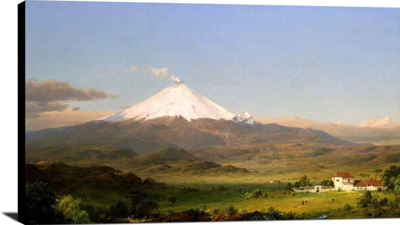 Cotopaxi Painting Frederic Edwin Church Canvas Art