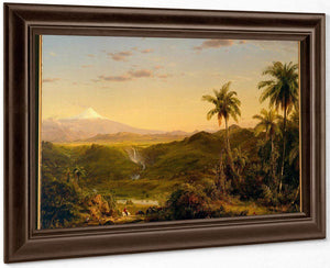 Cotopaxi By Fredric Edwin Church By 01