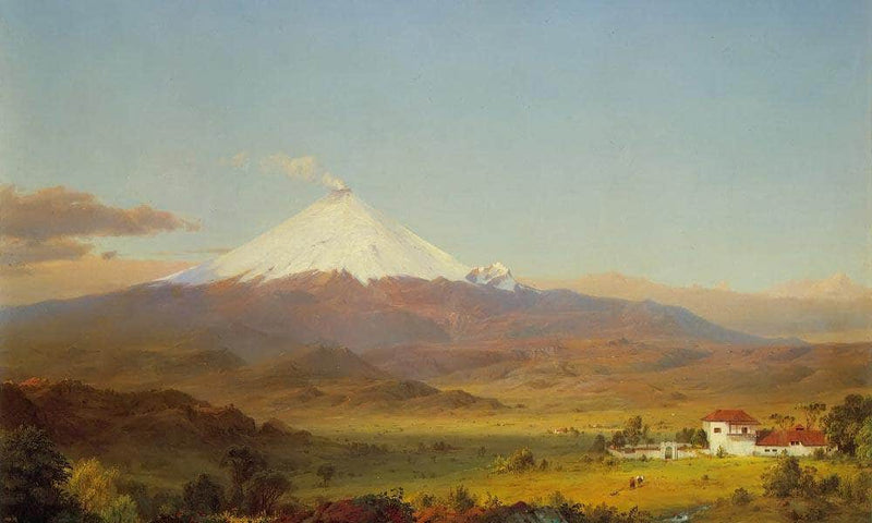 Cotopaxi By Fredric Edwin Church