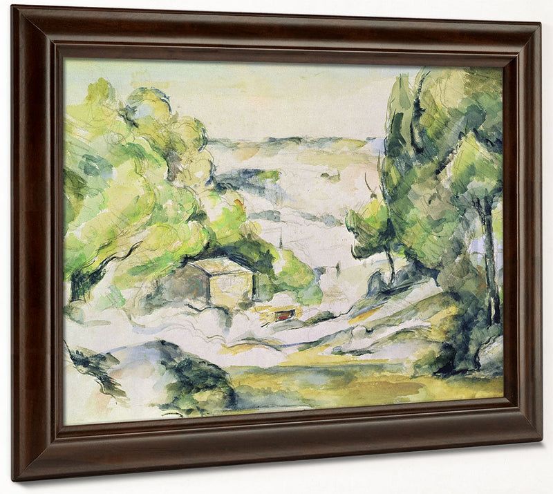 Countryside In Provence 1 By Paul Cezanne