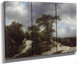 Countryside By Jacob Van Ruisdael