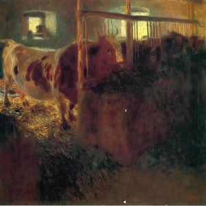 Cow Shed, 1899 A14 Klimt