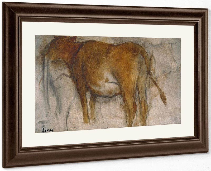 Cow By Edgar Degas