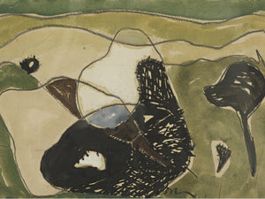 Cows In A Pasture By Arthur Dove