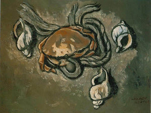 Crab Rope Seashells By Marsden Hartley