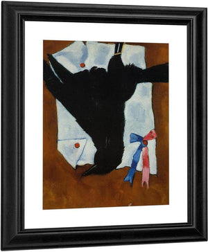 Crow With Ribbons By Marsden Hartley