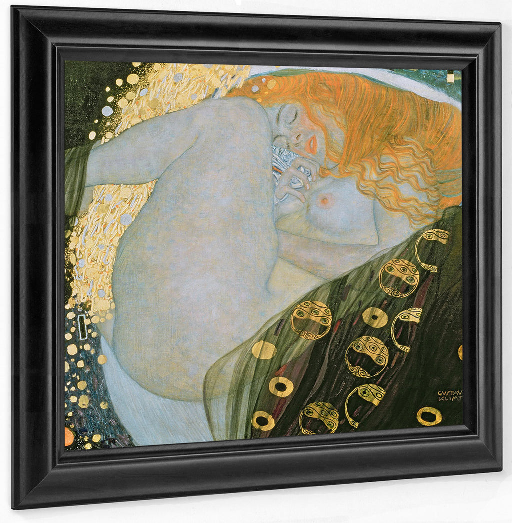 Danae 1907 1908 Private Collection By Gustav Klimt