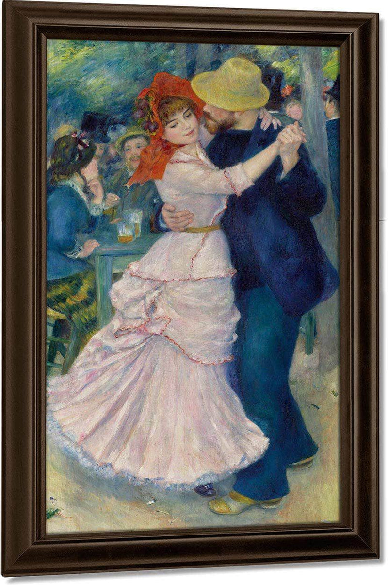 Dance At Bougival By Pierre August Renoir