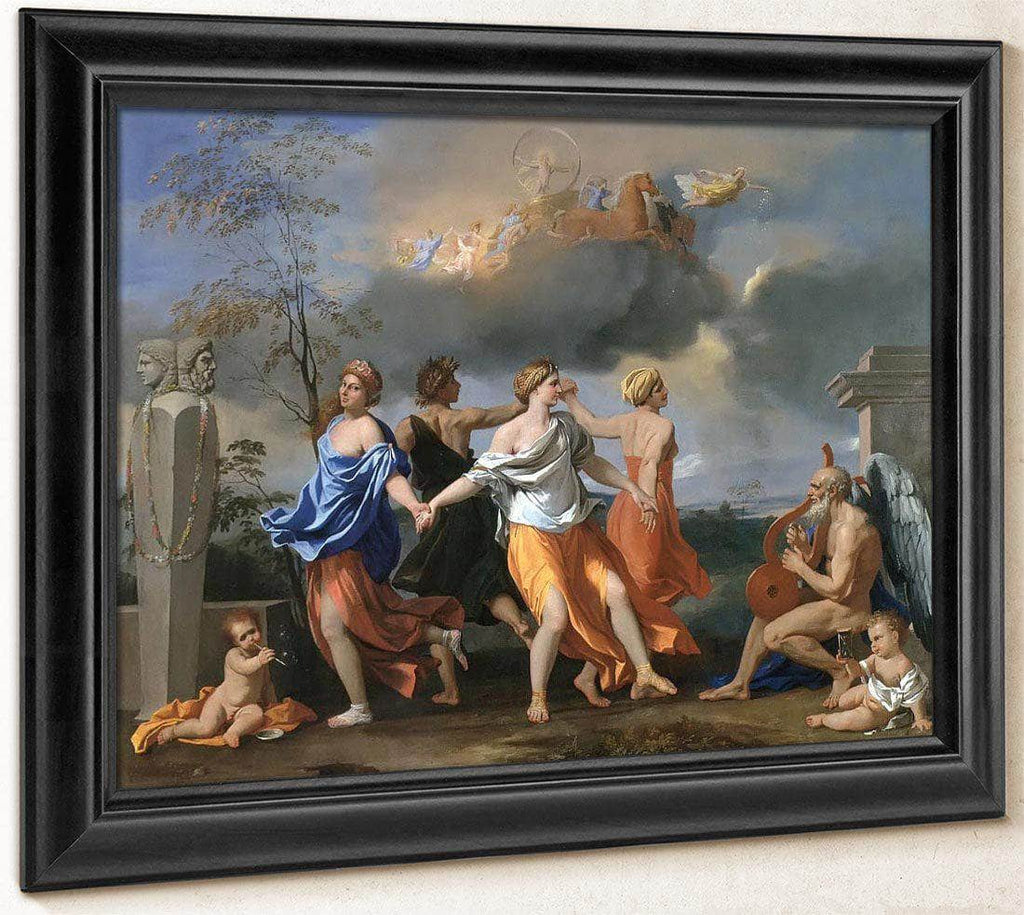 Dance To The Music Of Time By Nicholas Poussin