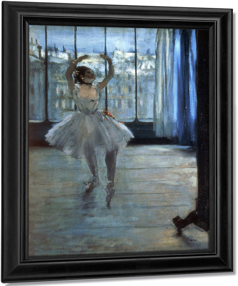 Dancer In Front Of A Window (Dancer At The Photographer's Studio) By Edgar Degas