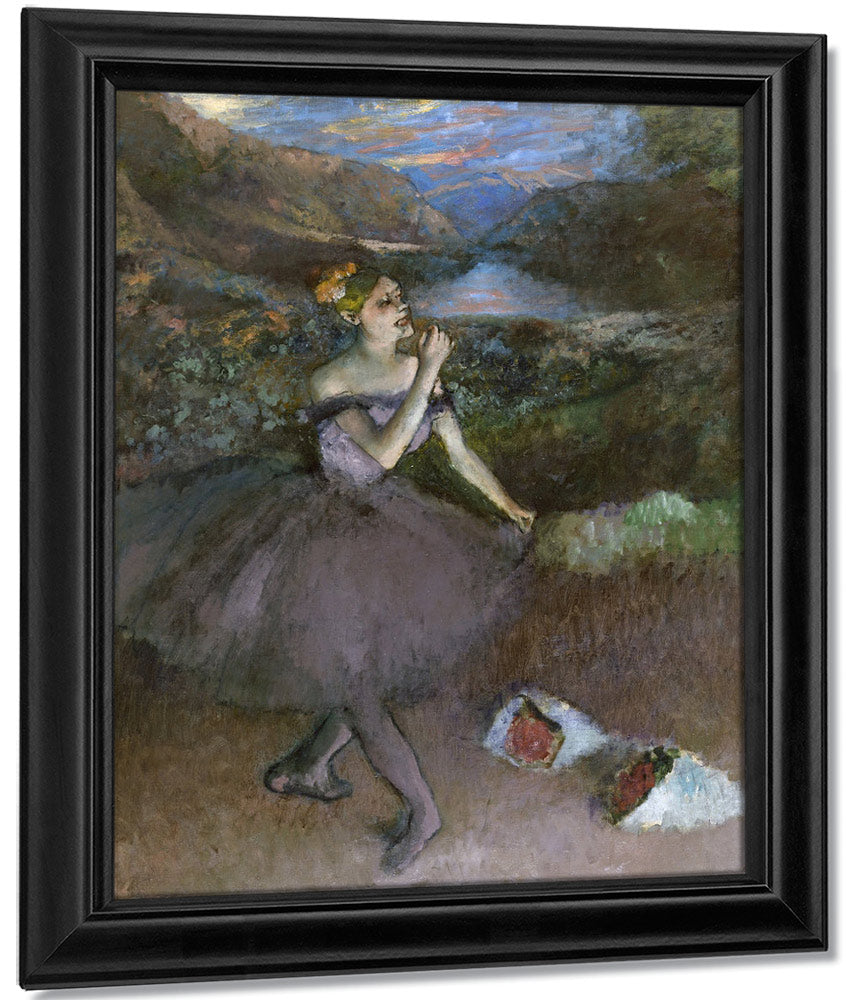 Dancer With Bouquet By Edgar Degas