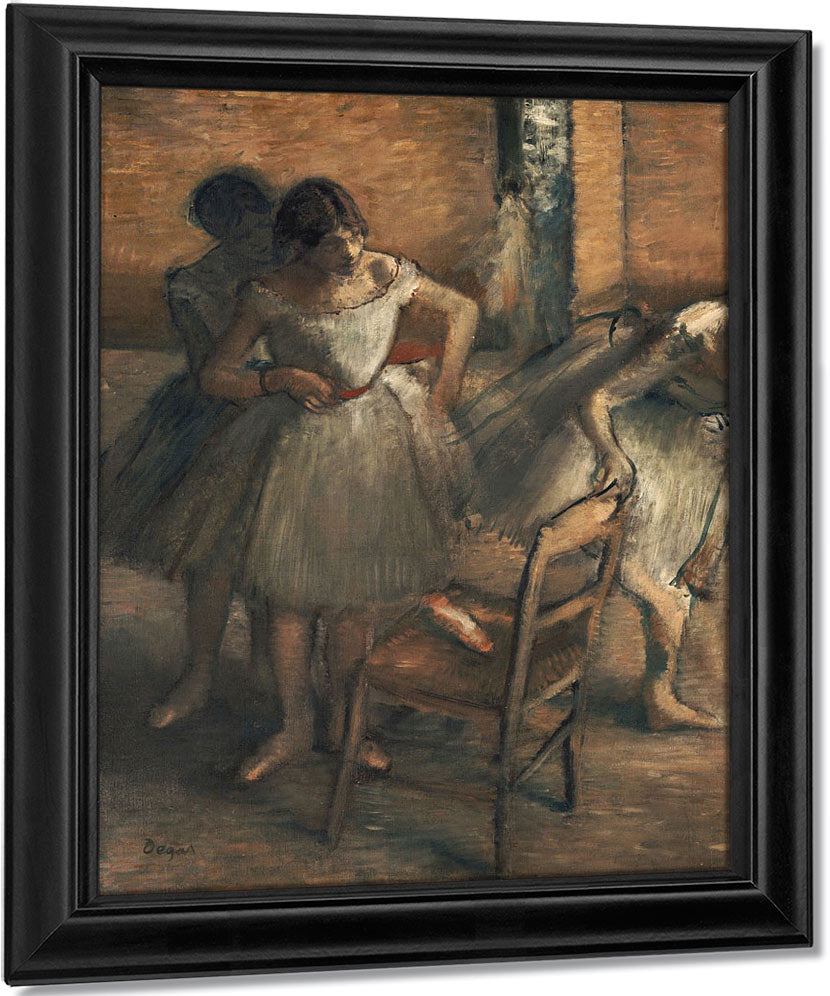 Dancers 4 By Edgar Degas