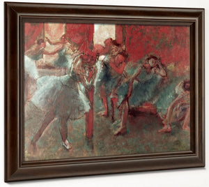 Dancers At Rehearsal 1 By Edgar Degas