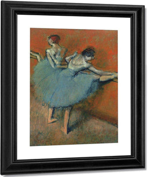 Dancers At The Bar By Edgar Degas By 01