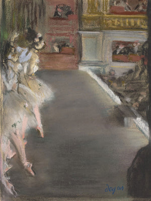 Dancers At The Old Opera House By Edgar Degas