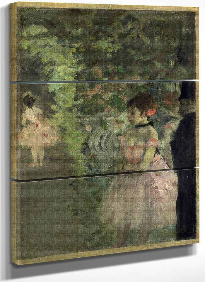 Dancers Backstage By Edgar Degas