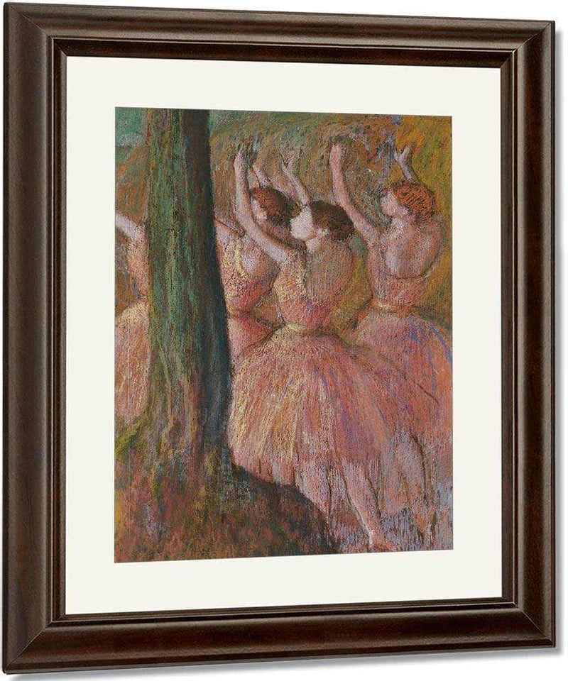 Dancers In Rose By Edgar Degas